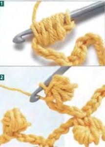 Вязание объемных цветов крючком схемы с описанием 41