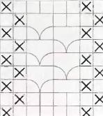 Филейное вязание крючком: бесплатные схемы