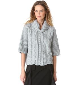 Очень красивый вязаный свитер » Петля, вязание, вязание для женщин