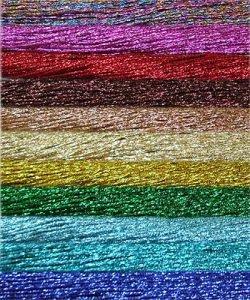 Выбор подходящих нитей для вышивания