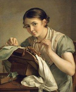 Немного об истории вышивального искусства