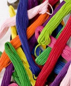 Учимся выбирать нитки для вышивания