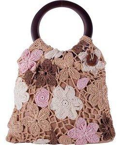 Дизайнерские сумочки, вязанные крючком