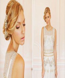 Вышивка на свадебных платьях: модно ли это?