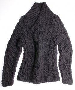 Модные вязаные свитера на эту осень